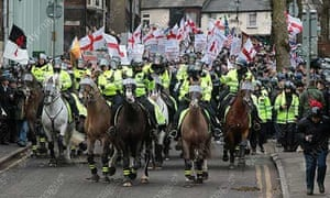 English Defence League demonstration