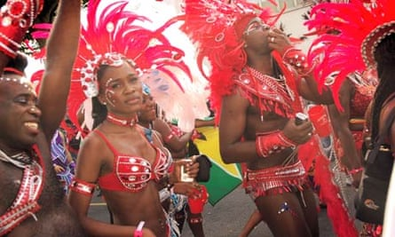 Dancers at the Notting Hill carnival, 2009.