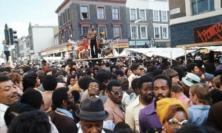 Notting Hill carnival, 1975.