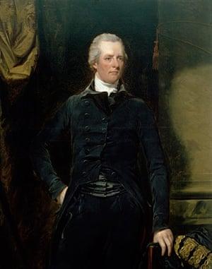 10 best: political biogs: <Portrait of William Pitt the Younger> by John Hoppner
