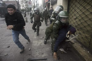 National Strike in Chile: National strike in Chile