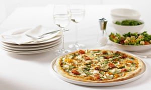 Domino's gourmet Florentine pizza