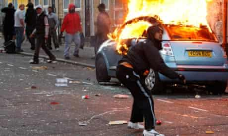 Riots and looting across London