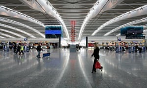 Universal suspicion: Heathrow's Terminal 5.