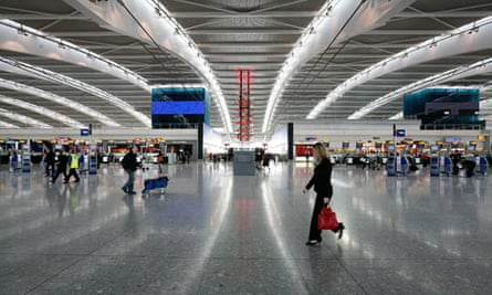 Universal suspicion: Heathrow's Terminal 5.