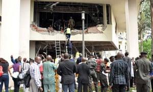 UN headquarters bombing kills 18