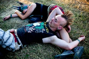 24 hours in pictures: Felsziget Music Festival in Tagru Mures, Romania