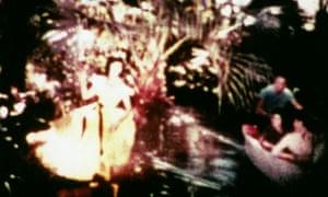 A still from the film Bardo Follies by Owen Land (formerly known as George Landow