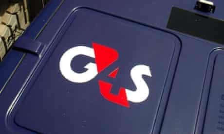 G4S van in London