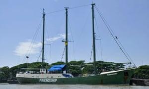 Greenpeace's Rainbow Warrior II