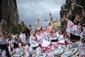 Notting Hill - Day 2: Performers take part in the Notting Hill Carnival