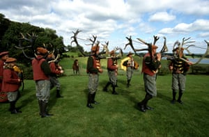 celebrate gallery: Abbot's Bromley Horn Dance, Staffordshire, England