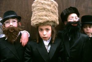 celebrate gallery: Festival of Purim, north London