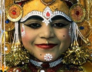 "celebrate gallery: Boy ""Goddess"", India"