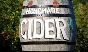 Cider barrel