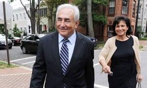 Dominique Strauss-Kahn returns from IMF