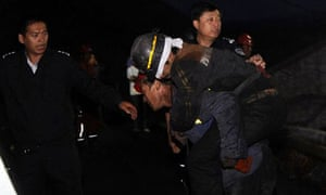 Chinese miners rescued