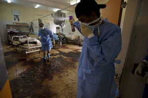 Sean Smith in Libya: 26 August: Dead bodies lie in the hospital in the Abu Salim district