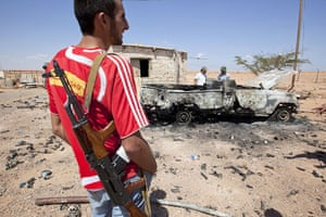 Sean Smith in Libya: 29 August: On the frontline between Misrata and Sirte