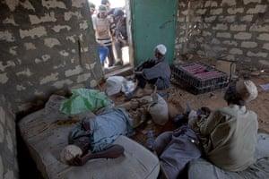 Sean Smith in Libya: 29 August: Alleged loyalists of Muammar Gaddafi are detained