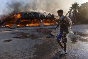 Sean Smith in Libya: 23 August: Rebel forces storm Gaddafi's compound at Bab al-Aziziya