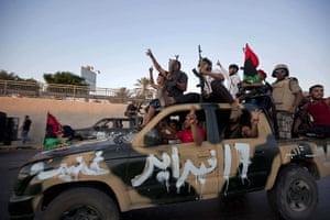 Sean Smith in Libya: 23 August: Rebels speed towards Muammar Gaddafi's compound