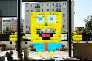 Post-it wars: SpongeBob SquarePants