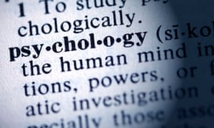 Dictionary definition of the word psychology