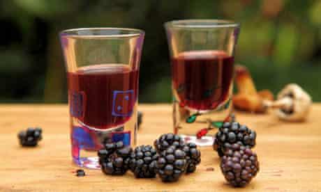 John Wright's blackberry whisky