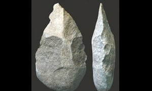 Early human hand axe