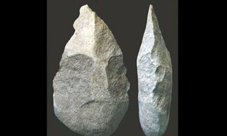 Early human hand axe