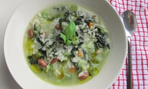 Felicity's perfect minestrone soup