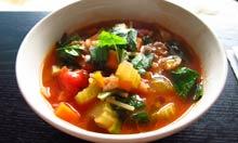 Jamie Oliver's recipe minestrone