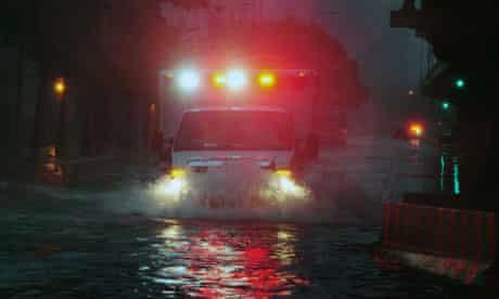Hurricane Irene Hits New York
