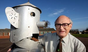 Tony Sale and George the Robot