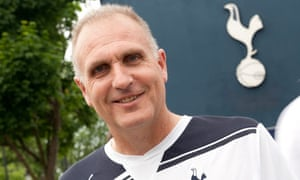 John Crace at White Hart Lane