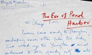 J G Ballard Archive at the British Library