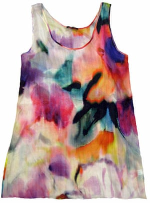 Travel - cool kit gallery: Inky print top by Zoe Boomer