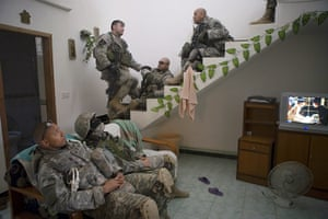 Sean Smith Frontlines: US soldiers conducting house-to-house