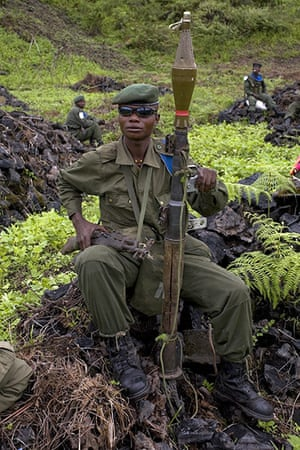 Sean Smith Frontlines: A Congolese government soldier