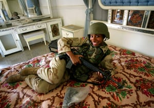Sean Smith Frontlines: US soldier Baghdad, 2003
