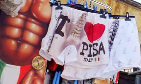 Leaning Tower of Pisa underwear
