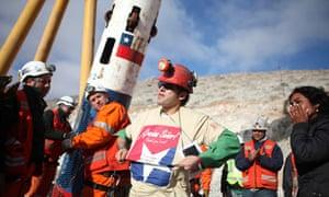 Chilean miner Alex Vega