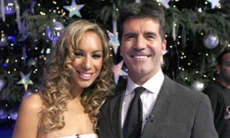Leona Lewis and Simon Cowell