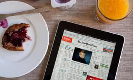 The New York Times, iPad edition