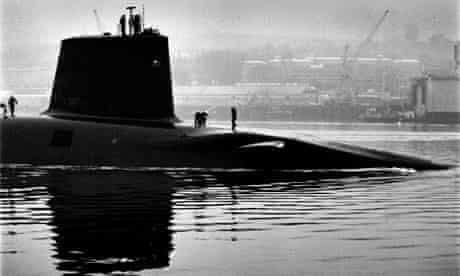 Vanguard, a Trident nuclear submarine