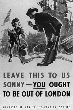 You can help your country: A second World War evacuation poster