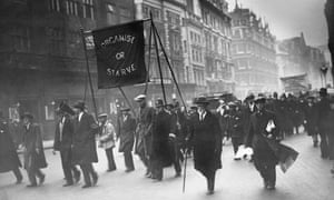 1930 March of the Unemployed London UK