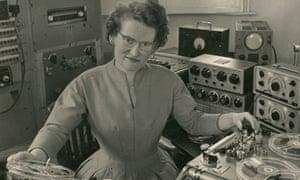 Daphne Oram pictured in 1962.