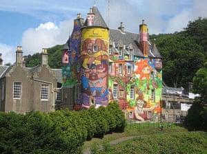 10 best: street art: Kelburn Castle